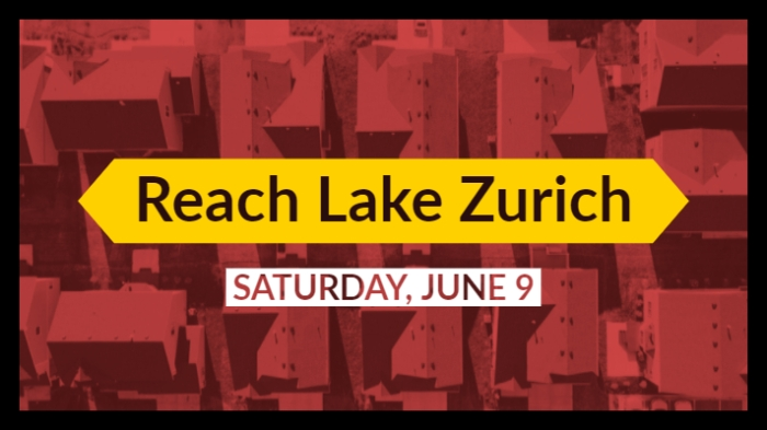 Reach Lake Zurich June 9