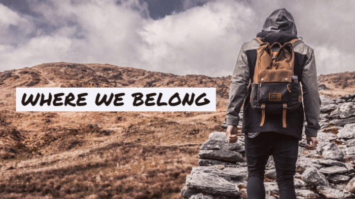 Where We Belong 10-15-18
